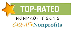 Top-Rated Nonprofit 2012 - Great Nonprofits